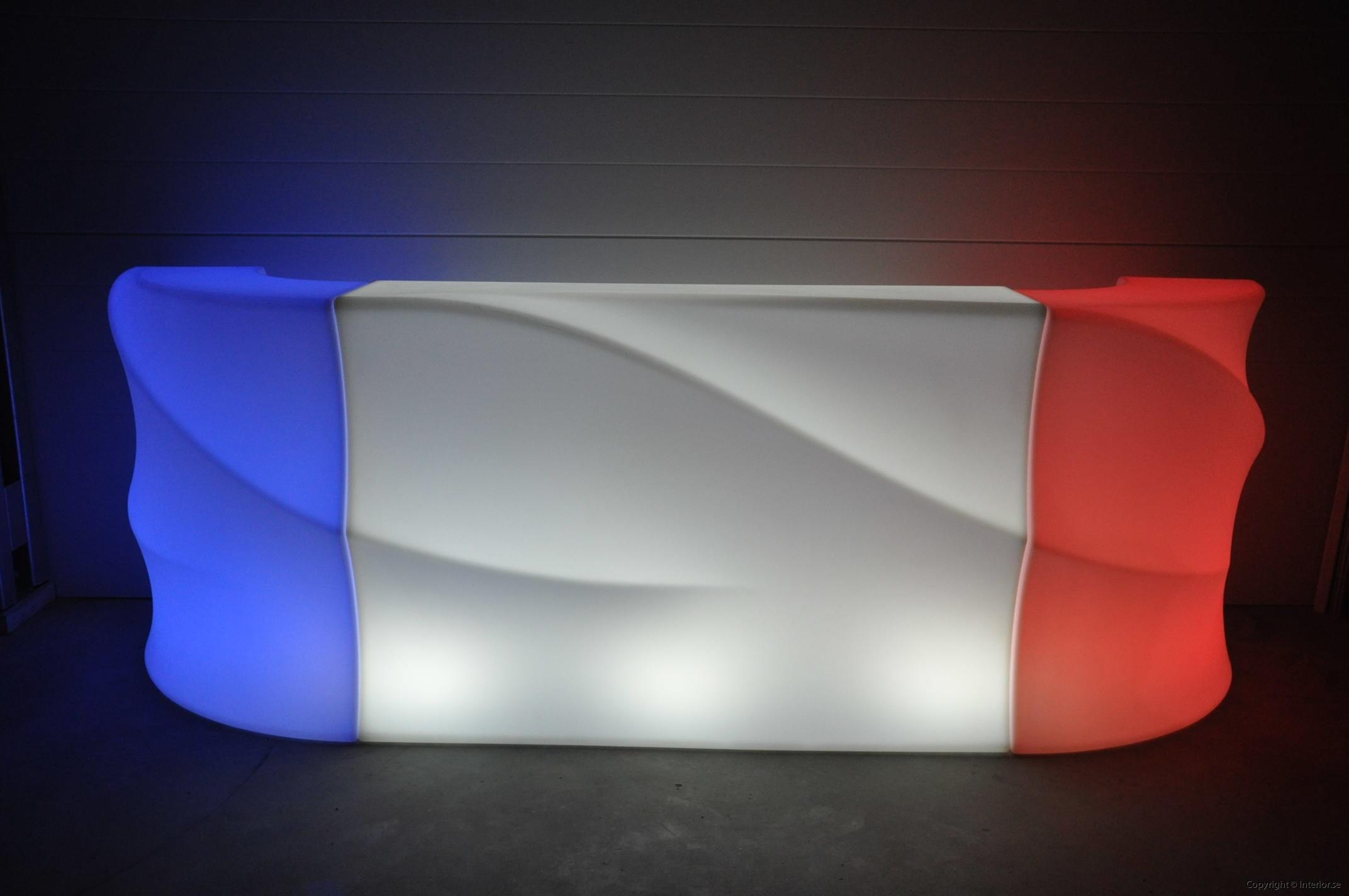 Hyra LED bardisk stockholm, New Wave 320 cm - batteri (14)
