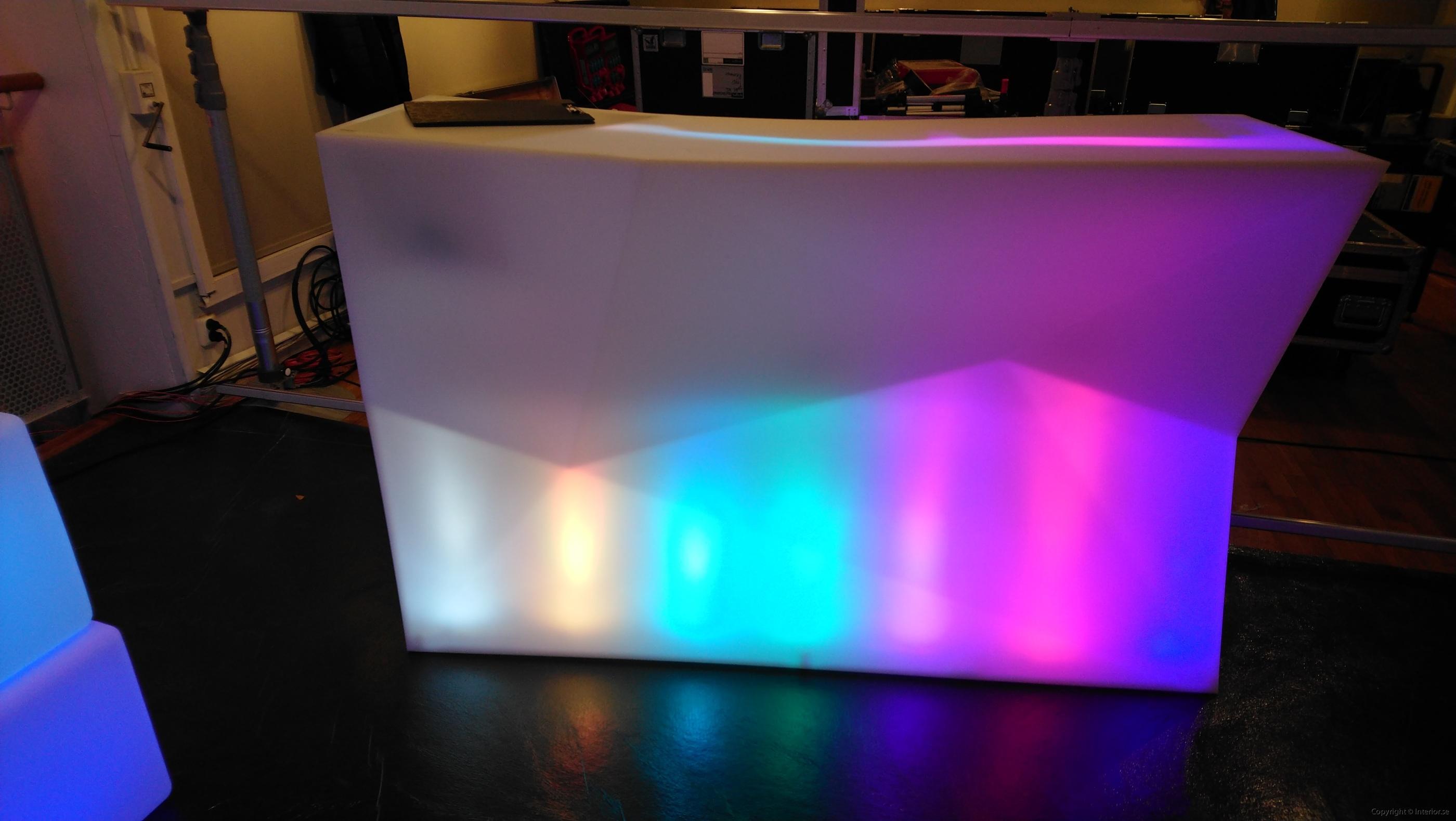 Bardisk, Vondom Faz Bar Multi Light LED - Special Design (2)