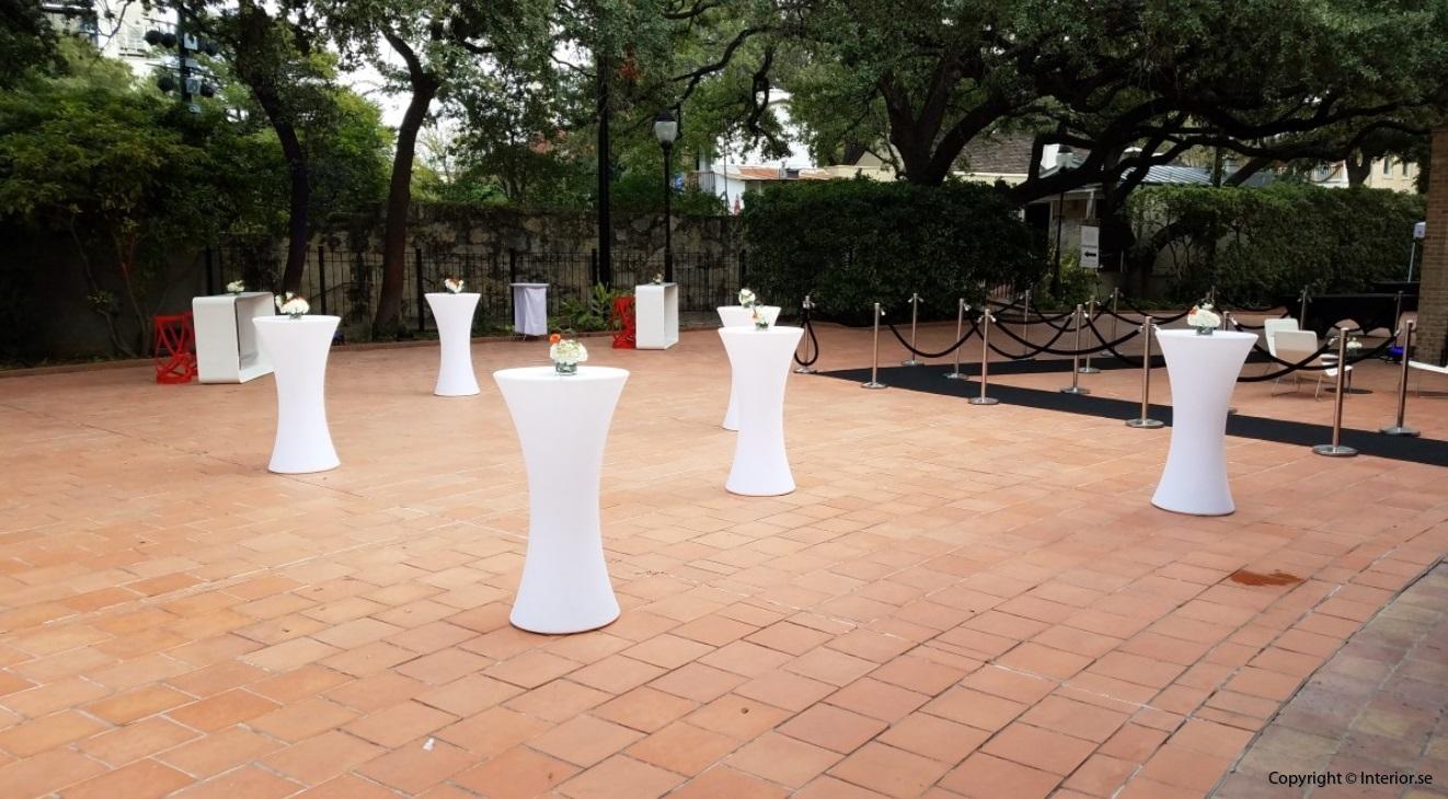 Hyra hyr ståbord barbord - RGB LED Uppladdningsbara ledmöbler event möbler stockholm 3 företag logo 4