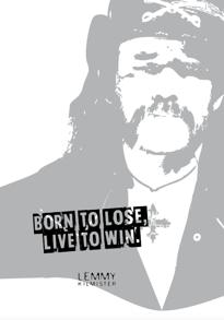 Born To Lose - Posterperfect