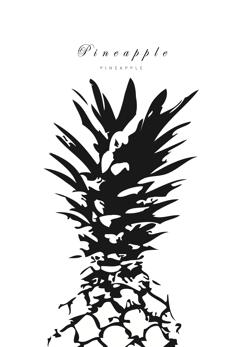Affisch Pineapple 03 - Affisch Pineapple 03 - 50x50cm