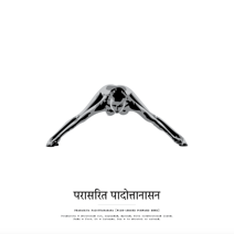 Yoga - Prasarita Padottanasana - Posterperfect