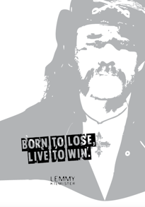 Born To Lose - Posterperfect