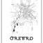 Map Örebro 01 - Posterperfect