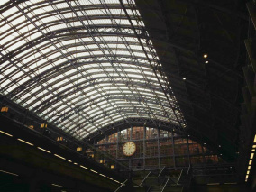 St Pancras station London - featuring Jenny Björnå