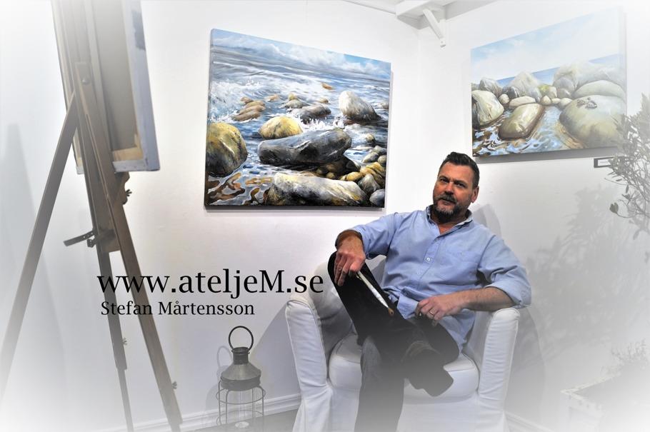 AteljeM.se, Stefan Mårtensson, Konstnärernashus Smygehamn