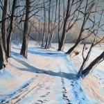 Vinter 2) 65x54cm 3500:-