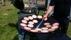 Produktlansering av Lindströms hamburgare på sommartravet i Halmstad. Inhyrd av Barbeque Taste AB.