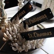 Namnskyltar från Kloster