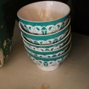 Cafélatte skålar