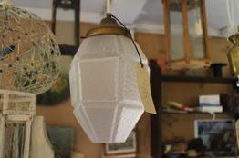 Liten 1920-tals lampa