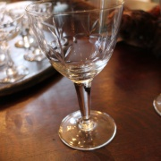Stora franska vinglas
