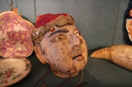 Huvud till marionettdocka