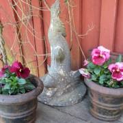 Trädgårdsfigur