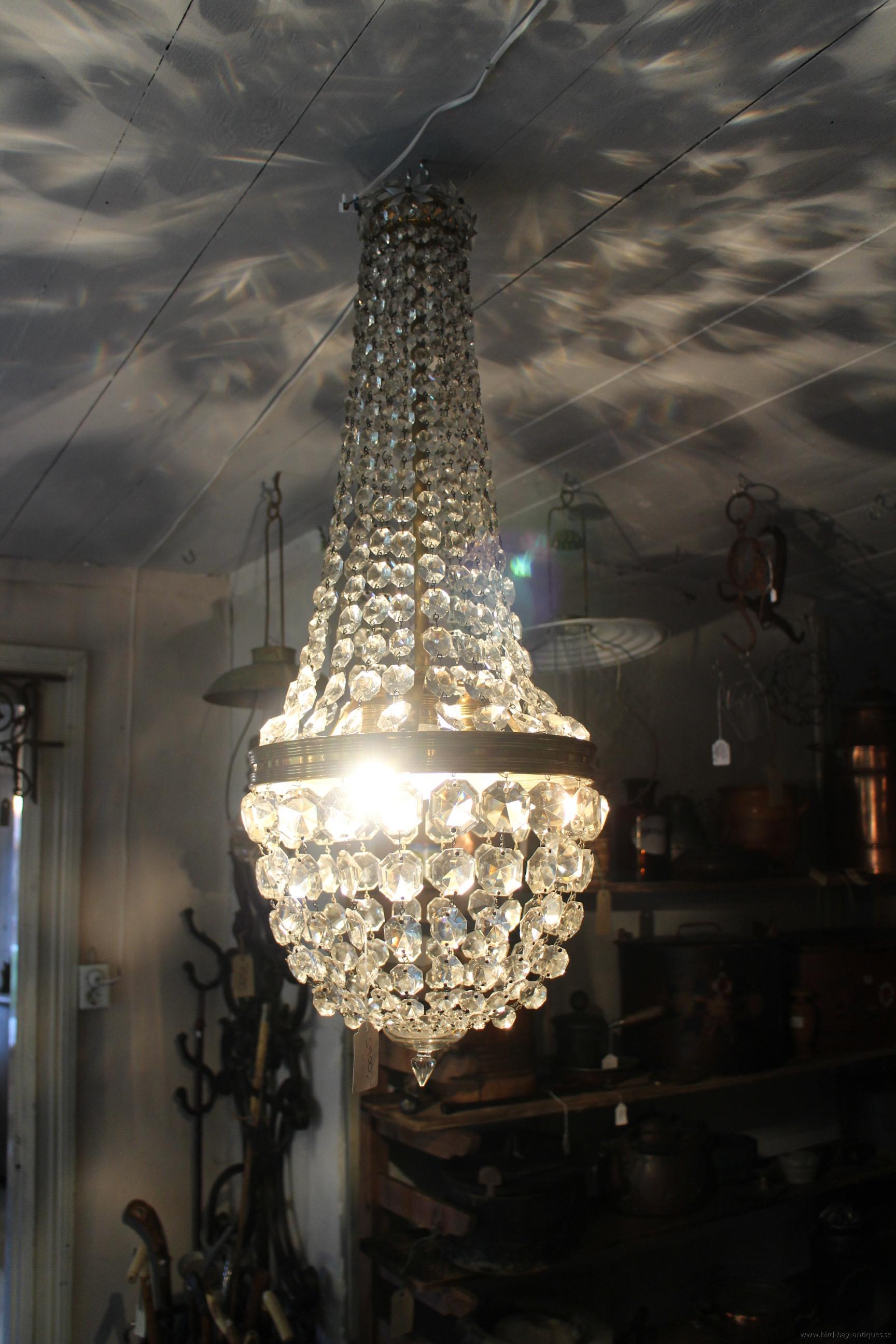 Ljuskrona påsmodell antik
