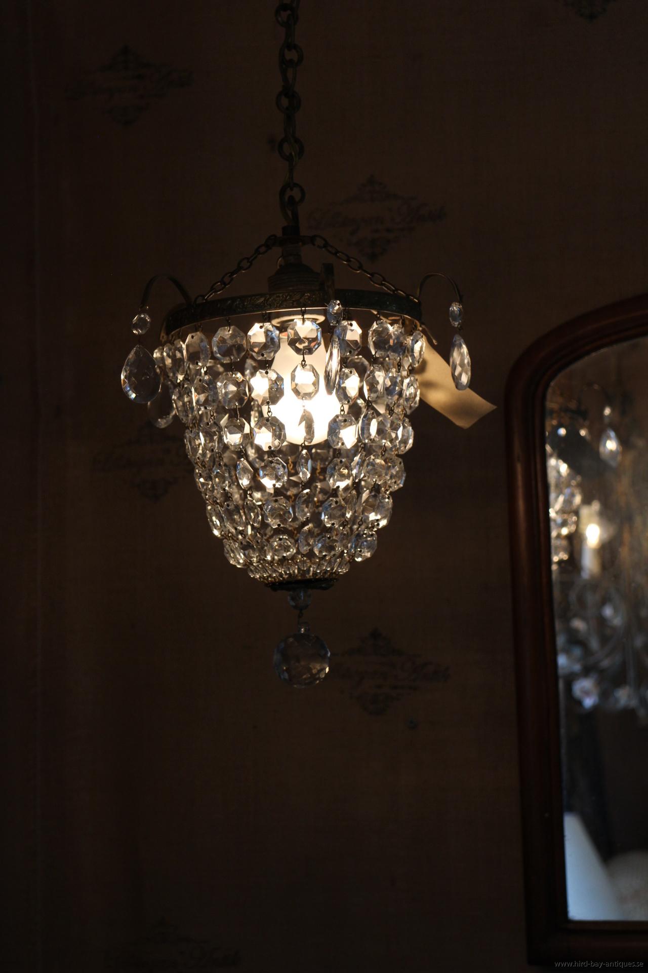 ljuskrona frankrike antik