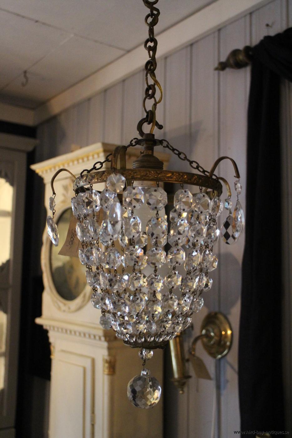 fransk ljuskrona antik