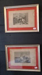 1800-tals gravyrer i silverramar