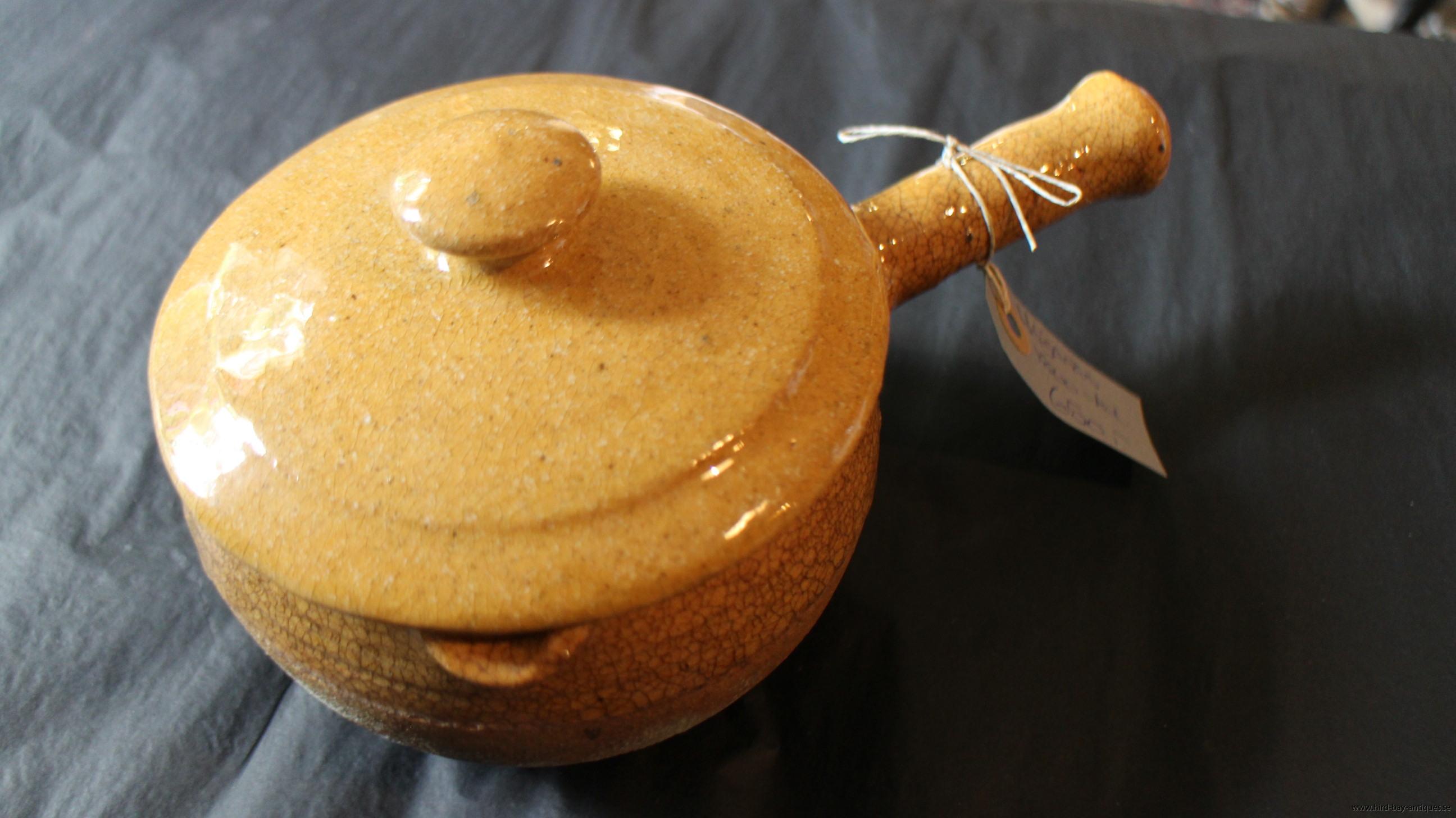öganäs gryta keramik gul