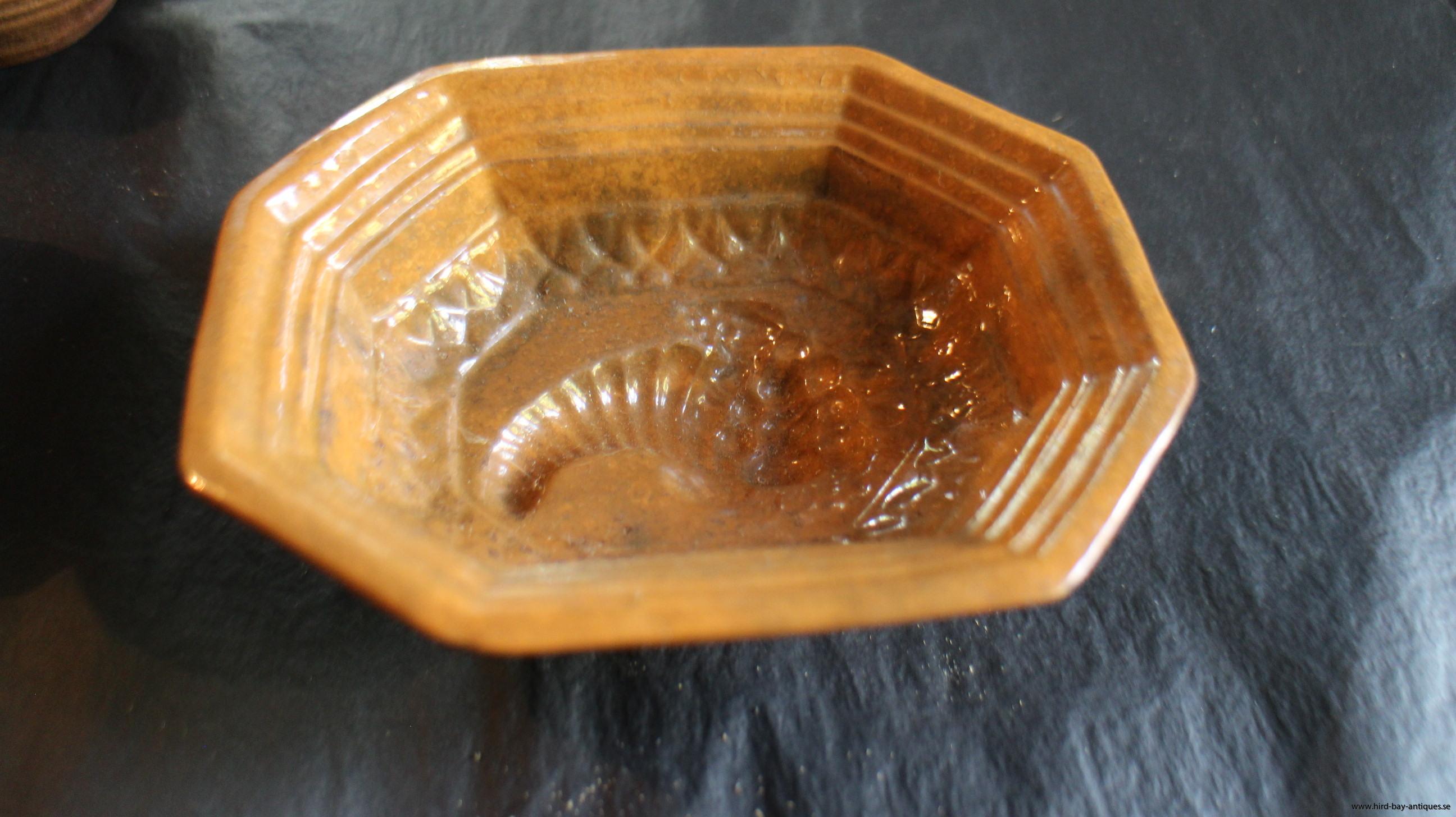 Lerform antik gul keramik