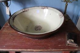 Stort keramikfat