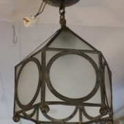 Blyinfattad lampa