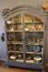 Fransk 1700-tals vitrinskåp