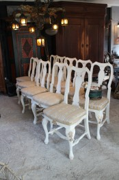 10 bondrokoko stolar
