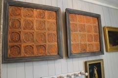 Tavlor med 1700-tals kakel