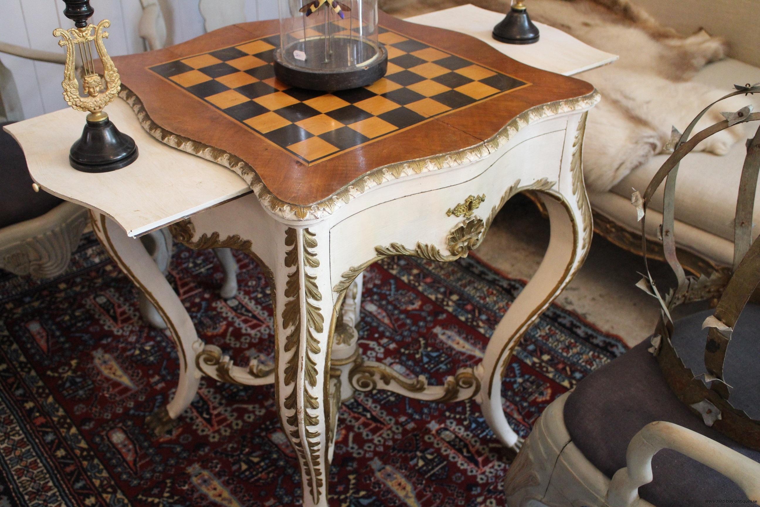rokoko schackbord