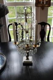 Bordljuster med putti