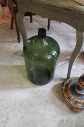 Stor grön flaska