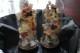 Parglober med pappersblomster