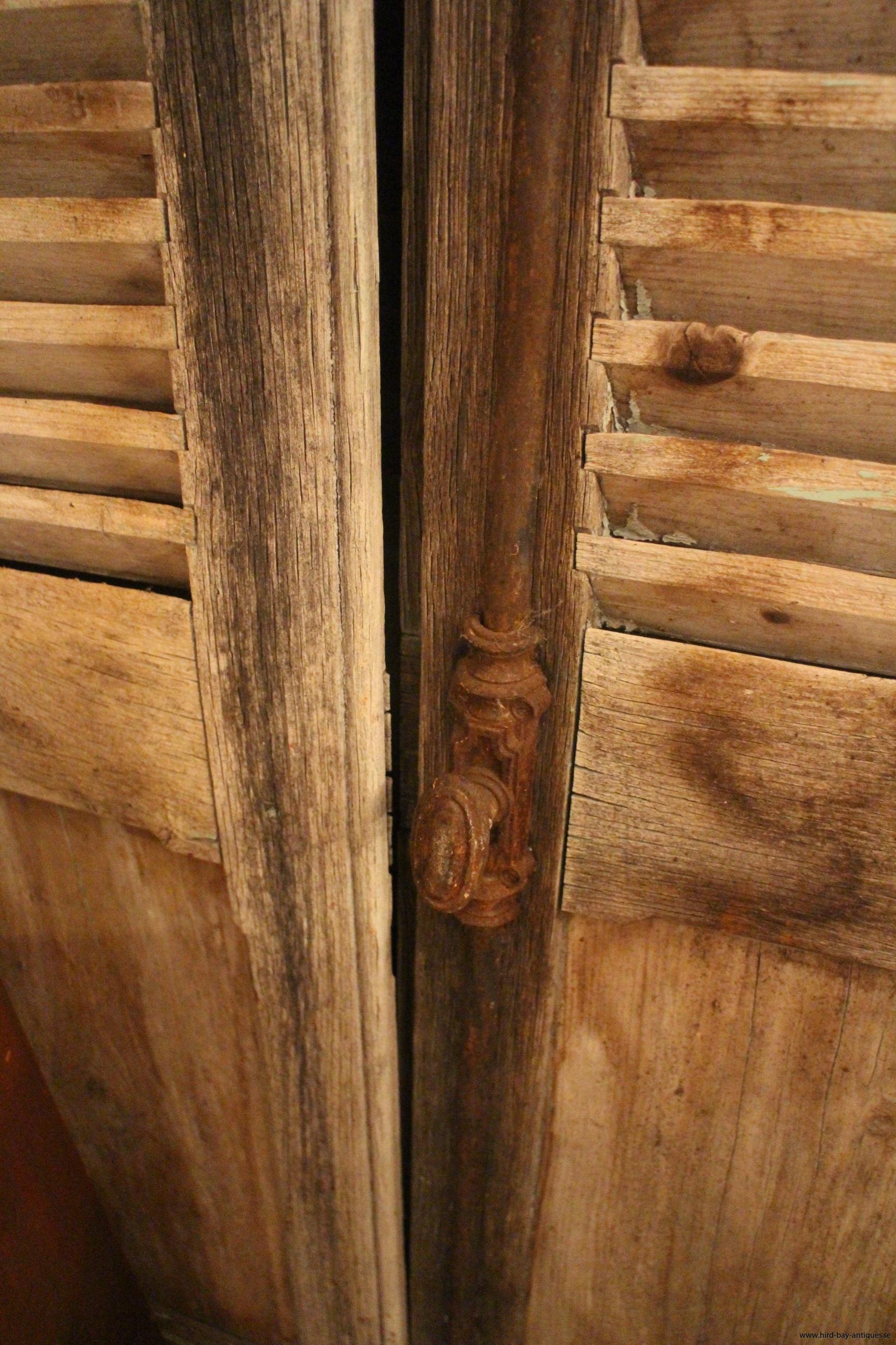 fönsterluckor Frankrike antika gamla