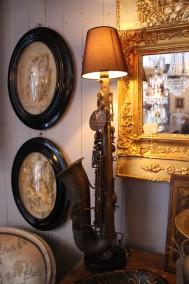 Saxofonlampa