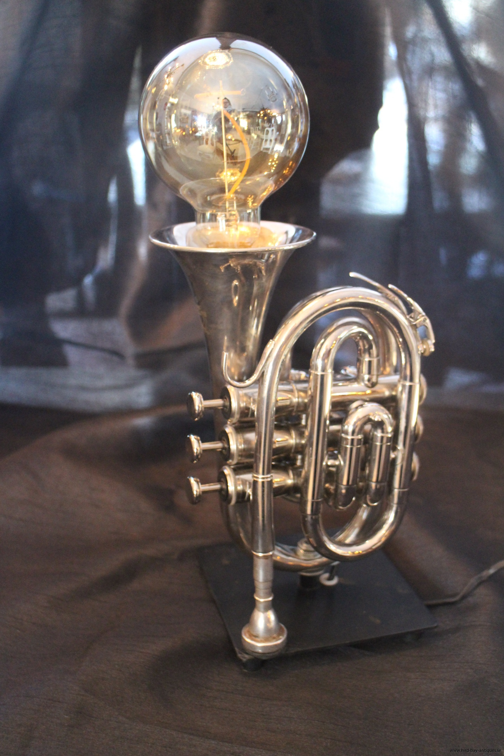 minitrumpet lampa