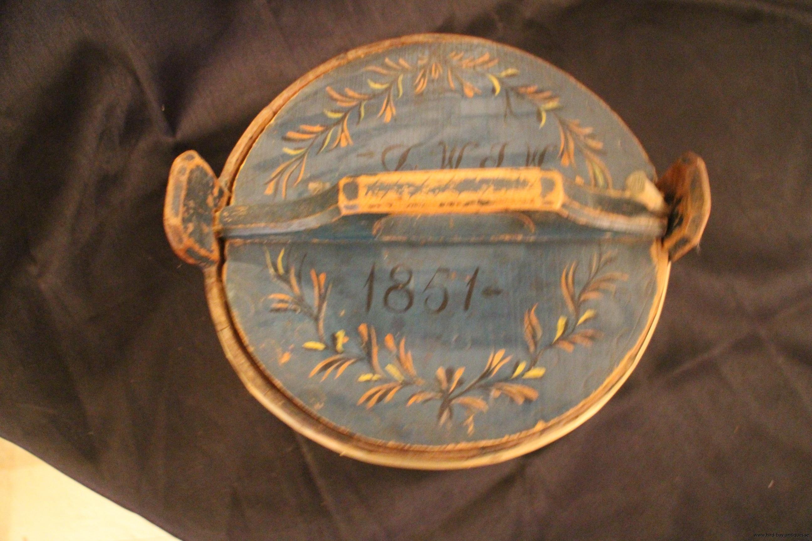 1800-tal allmoge blå