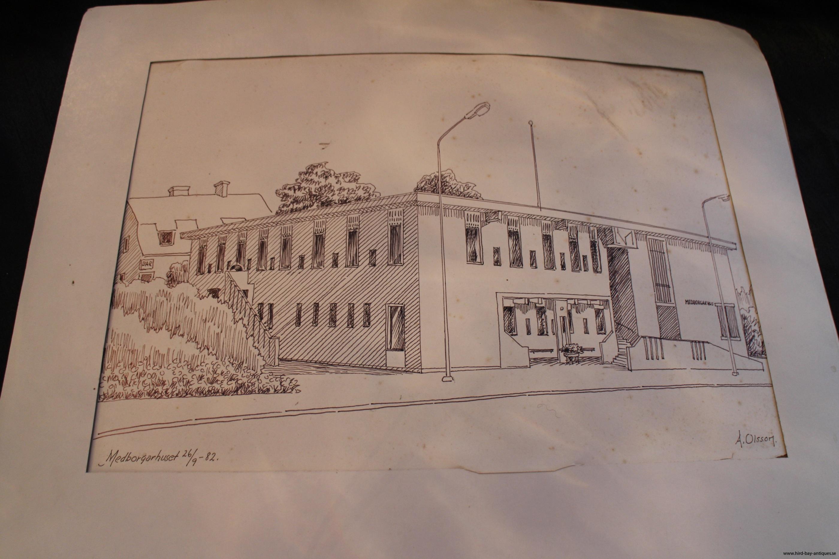 Allan Olsson medborgarhuset kulturhuset Markaryd
