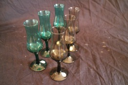 Färgade glas