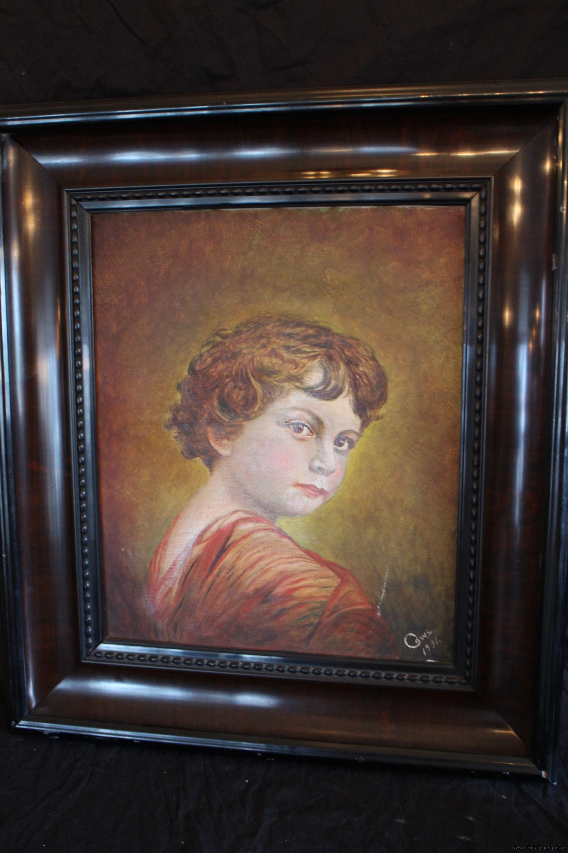 porträtt pojke