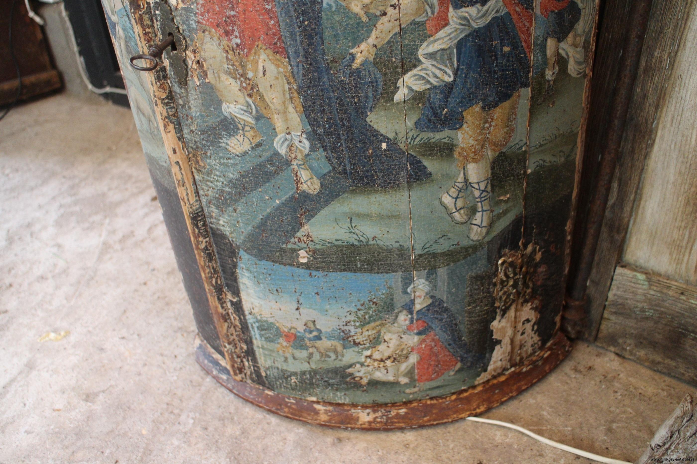origianlmålning antik rokoko
