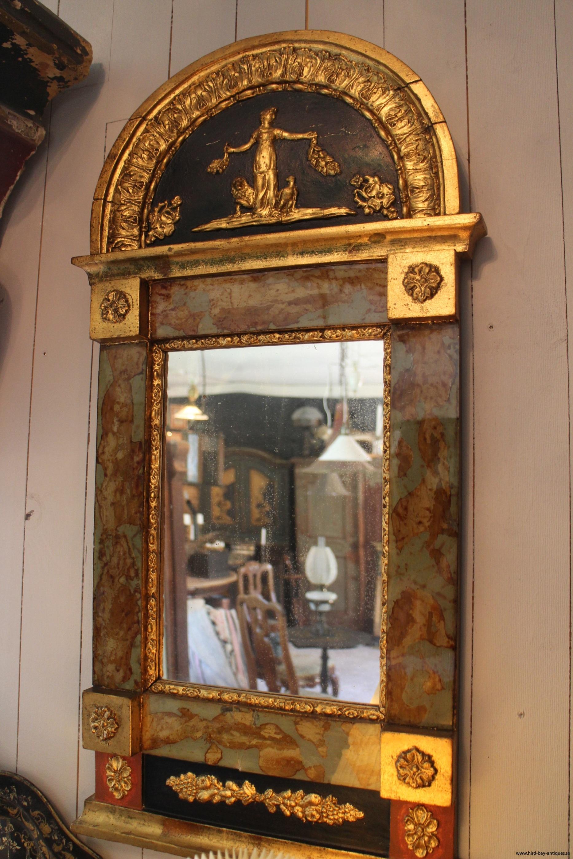 antik glasmästarspegel sigill