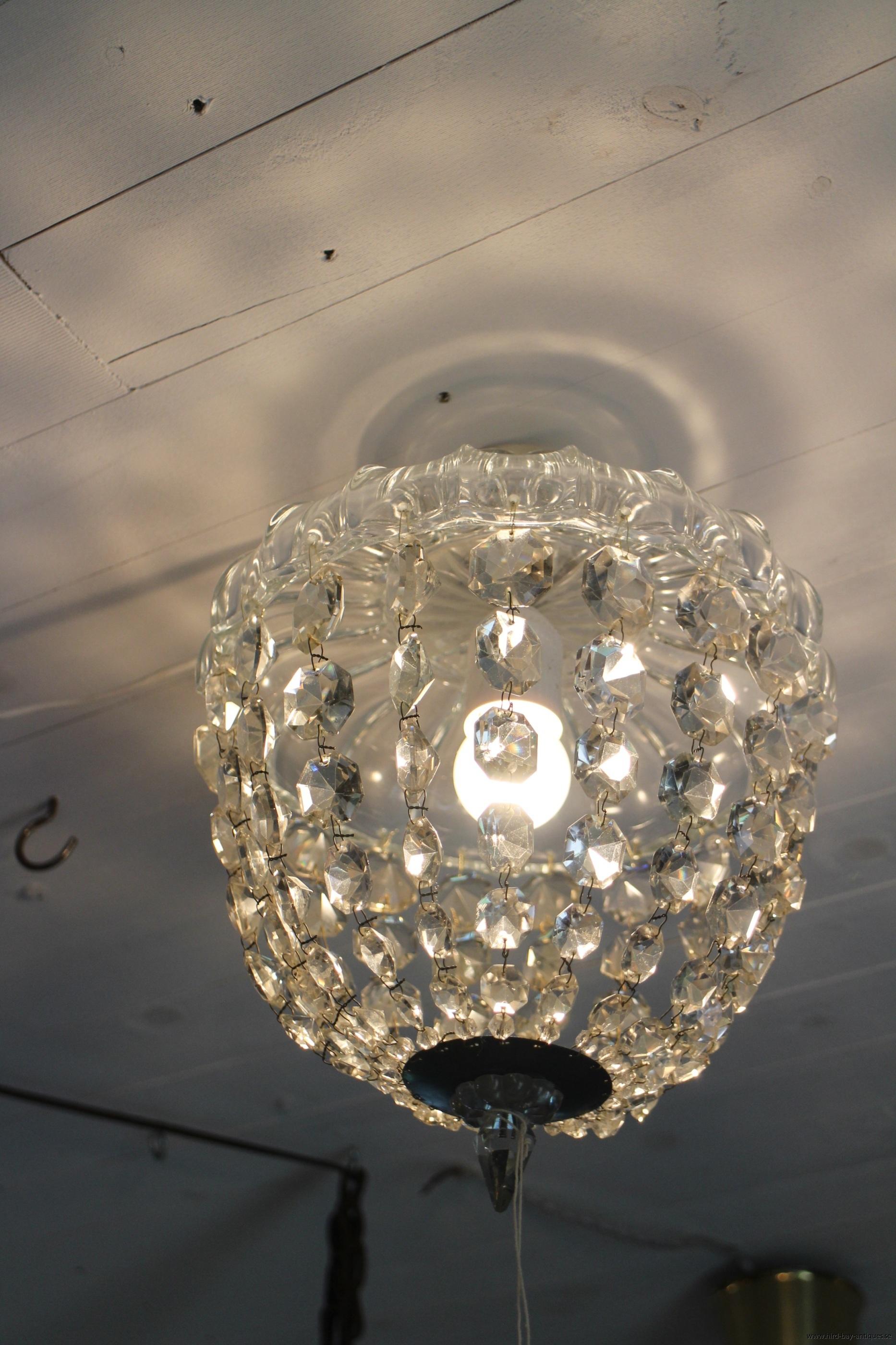 takkrona kristallboll