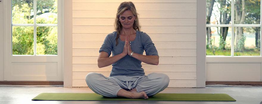 Hälsogård Laholm Halland ljusa lokalen, natur, trädgård, boend - för yoga, retreat, wellnesskurser, mindfylness och meditation