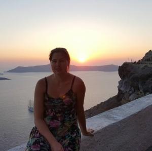Livsinspiration ThereseElisabeth- Santorini 2017