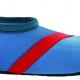 Barn Fitkicks, blå med röda detaljer. - Storlek XL