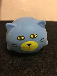 Greppvänliga och mjuka kattbollar - Greppvänlig mjuk boll - blå