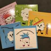 Paketpris 5 - 9 år: 4 Poppeböcker + Handledning