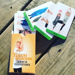 Barn i Balans® Yogakort + Plansch -