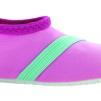 Barn Fitkicks, rosa med blå-grön detaljer - Storlek XL